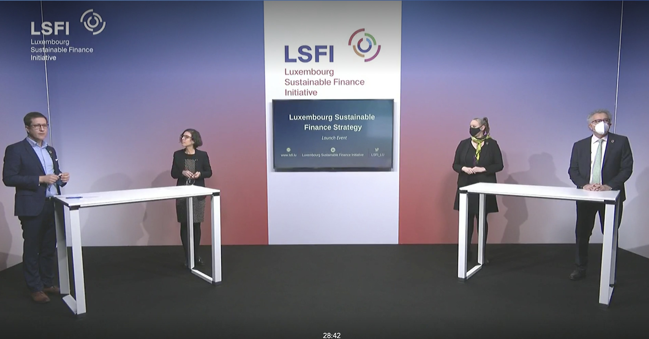 Press Announcement – A Sustainable Finance Strategy for Luxembourg and its financial centre