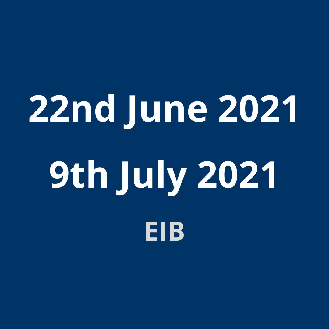 EIB Group Environmental and Social Sustainability Framework public consultation – Webinars